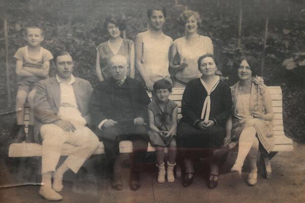 Rodina Mikuláša Škreka tesne pred vojnou