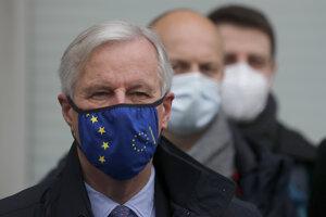 Hlavný vyjednávač Európskej únie Michel Barnier.
