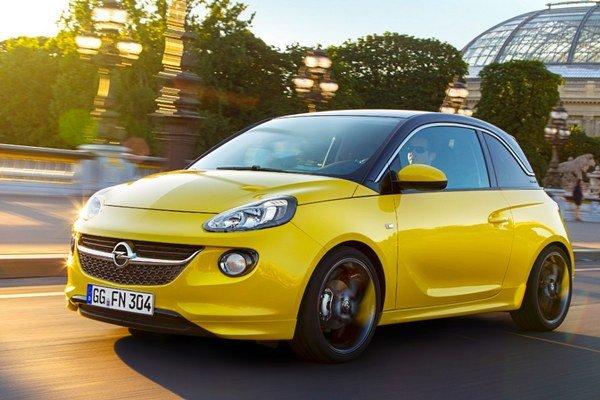 Opel Adam bude možné kombinovať z rôznych farieb karosérií a doplnkov.