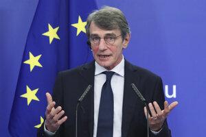 David Sassoli, predseda Európskeho parlamentu.