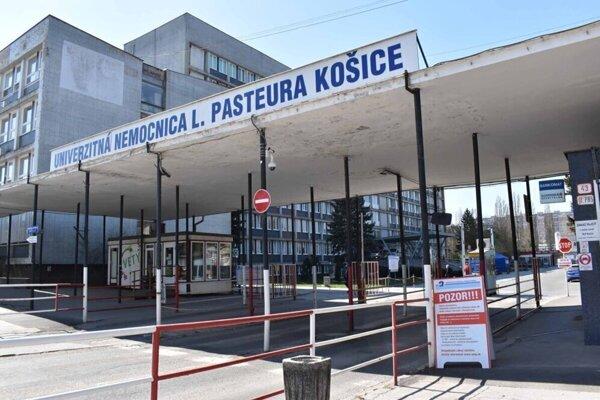 Univerzitná nemocnica L. Pasteura Košice.