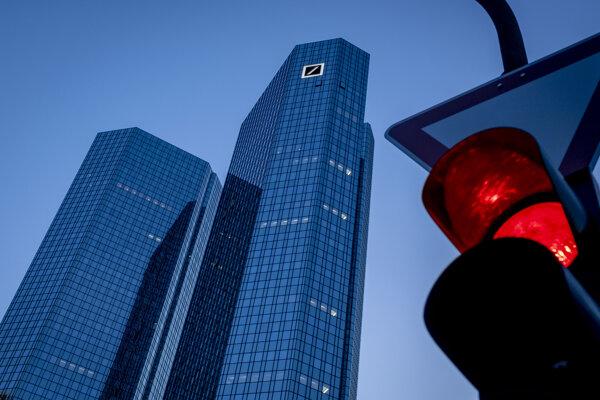 Sídlo Nemeckej spolkovej banky (Deutsche Bundesbank) vo Frankfurte nad Mohanom 18. mája 2020.