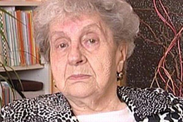 Levočanka Mária Repáková v pätnástich rokoch videla jedného partizána vraždiť druhého partizána kvôli peniazom.
