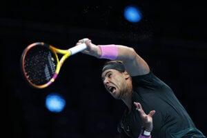 Rafael Nadal na Turnaji majstrov 2020.