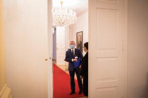 Jozef Čentéš na vypočutí kandidátov na funkciu generálneho prokurátora.