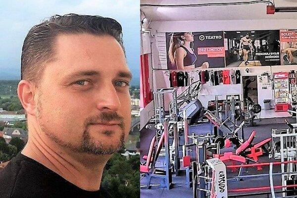 Marek Lupták, majiteľ lučeneckého fitnescentra MAX Fitnes.