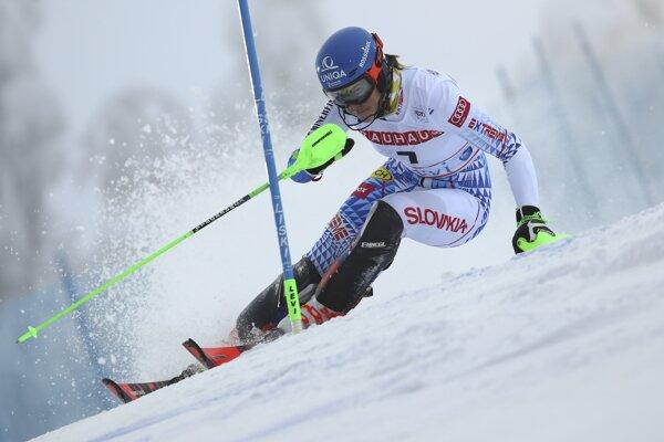 Petra Vlhová - slalom v Levi LIVE dnes.