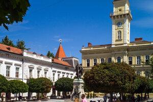 Komárno bolo vyhlásené za pamiatkovú zónu, kde sa nachádza vyše 40 národných kultúrnych pamiatok. Na snímke budova radnice na Námestí generála Klapku pochádzajúca z polovice 18. storočia, ktorá bola prestavaná v 19. storočí.