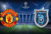 Futbal Manchester United - Basaksehir Istanbul, Liga majstrov dnes LIVE stream.