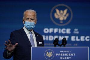Budúci prezident Joe Biden.