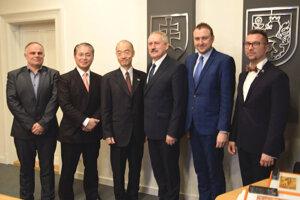 Japonský veľvyslanec bol v Leviciach pred rokom v novembri.