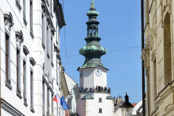 Michalská veža.