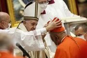 Pápež František menuje za kardinála Wiltona Gregoryho.