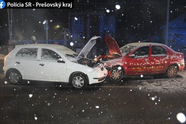 Dopravná nehoda v Hlinnom.
