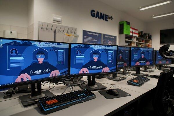 Novovzniknutý GAMElab.