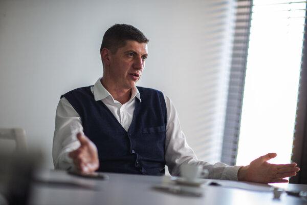 Manažér Penty pre vonkajšie vzťahy Martin Danko.