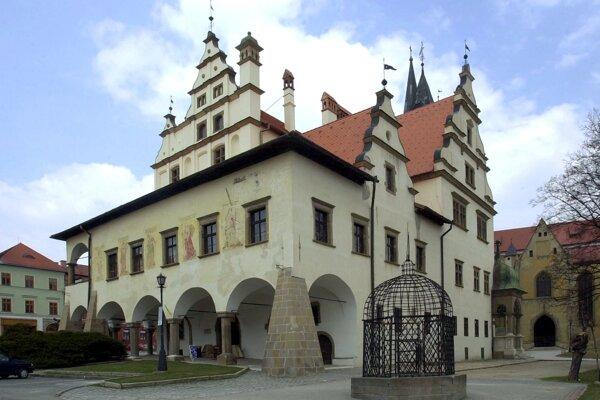 Levočská radnica.