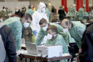 Hromadné testovanie v Rakúsku.