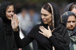 Novozélandská premiérka Jacinda Ardernová sa za zlyhanie bezpečnostných zložiek ospravedlnila.