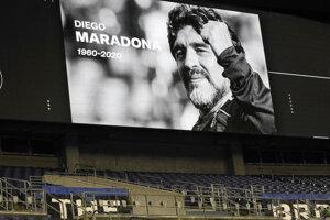 Pamiatku Maradonu si uctievajú po celom svete.