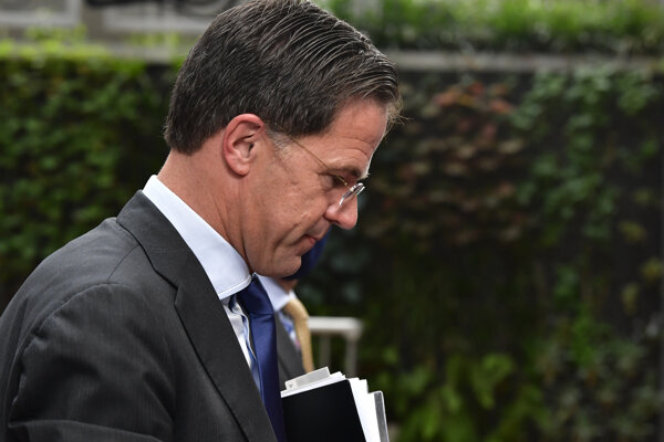Holandský premiér Mark Rutte.