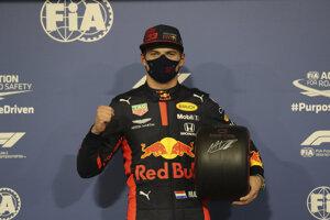 Max Verstappen vyhral kvalifikáciu na VC Abú Zabí 2020.