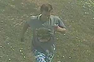Kriminalistom sa podarilo získať zábery podozrivého.