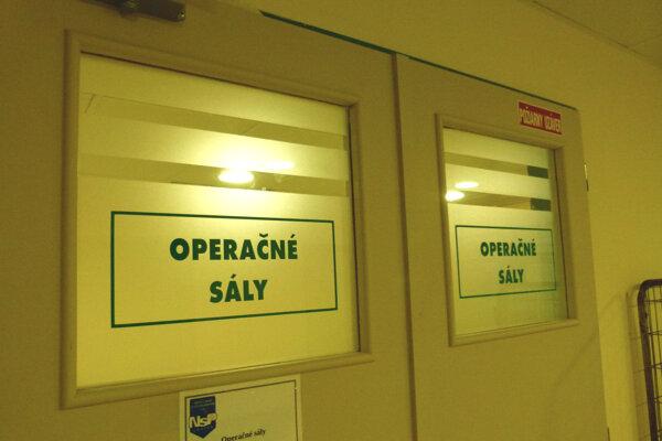 V nemocnici budú počas sviatkov zabezpečovať len neodkladnú zdravotnú starostlivosť.