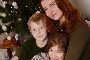 Jej deti sú pre ňu všetkým. Vianoce sú predovšetkým o láske k nim.