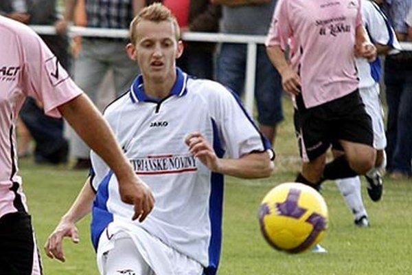 Michal Andrášik síce nepremenil penaltu, ale predsa jedným gólom prispel k víťazstvu V. Zálužia.