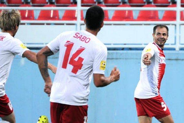 Prvý ligový gól Patrika Pavlendu sa zrodil v sobotu proti Myjave. Pravý obranca ViOnu naň potreboval 145 zápasov.