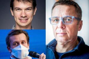 Michal Meško, Martin Smatana a Ivan Mikloš