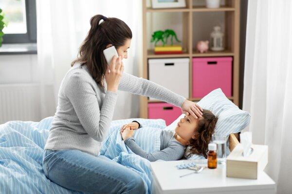 OČR, ktorú využívajú rodičia pri chorom dieťati, sa od apríla predĺži z najviac 10 na 14 dní.