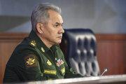 Ruský minister obrany Sergej Šojgu.
