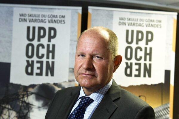 Dan Eliasson, predseda Švédskej agentúry pre civilné záležitosti.