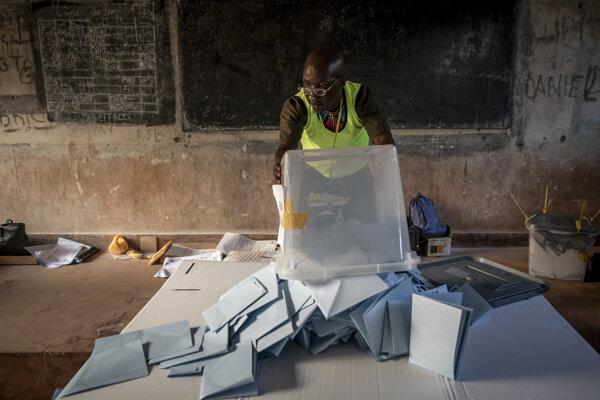 Voľby v Stredoafrickej republike.