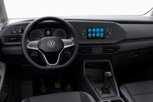 Interiér Volkswagenu Caddy Kombi.