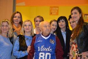 Vladimír Daňo učil 25 rokov na ZŠ Matice Slovenskej.