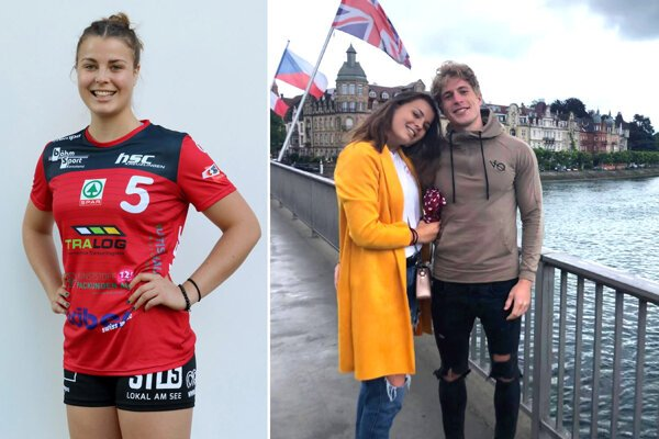 Petra Škoricová hrá za Kreuzlingen. Vo Švajčiarsku je s ňou aj jej priateľ Miro Gajdoš.