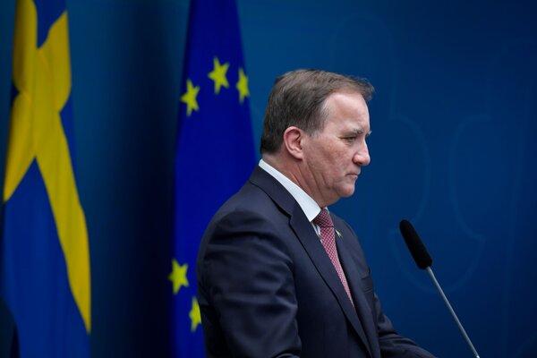 Švédsky premiér Stefan Löfven.