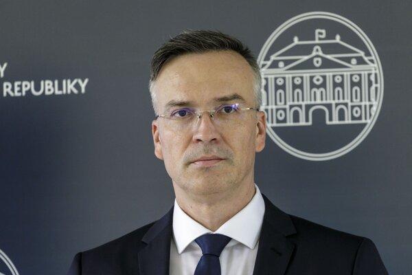 Štátny tajomník ministerstva financií Marcel Klimek.