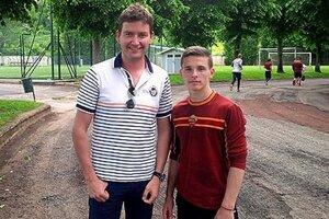 Matej Ivan a Nikolas Špalek v špičkovom tréningovom centre.