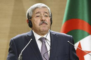 Bývalý alžírsky premiér Ahmad Ujahjá.