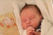 Prvé bábätko v roku 2021 narodené v bojnickej nemocnici.
