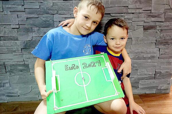 Futbalové nádeje z Mútneho pripravili nádherné projekty.