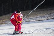 Vlaňajšia lyžovačka na Zochovej chate.