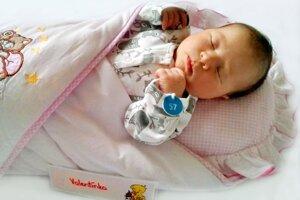 Valentína Peticová z Nedožier-Brezian sa narodila 19.12.2020 v Bojniciach
