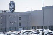 Bratislavský závod Volkswagen Slovakia.
