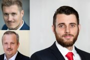 Analytici Jan Cepák, Dominik Hapl a Michal Nalevanko