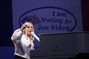 Americká speváčka Lady Gaga.